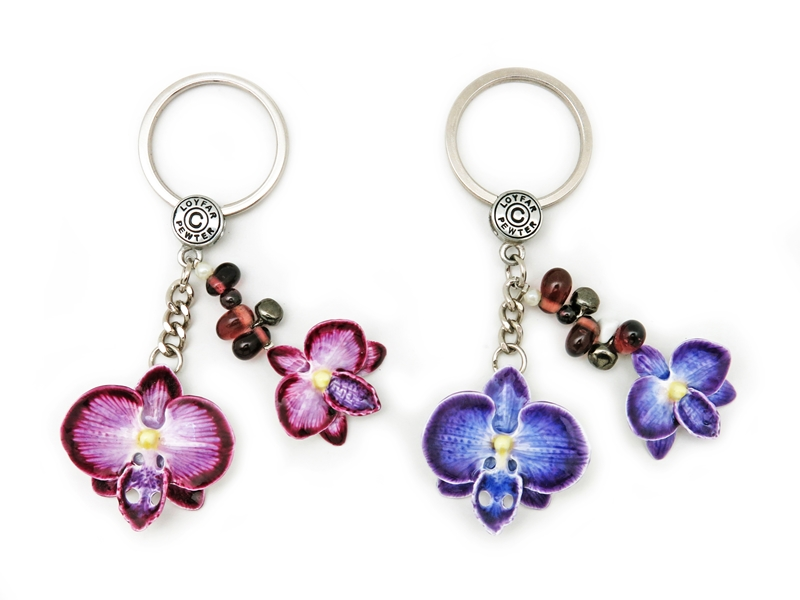 KEY RING ORCHID FLOWER