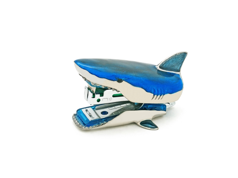 STAPLER SHARK  COLOUR