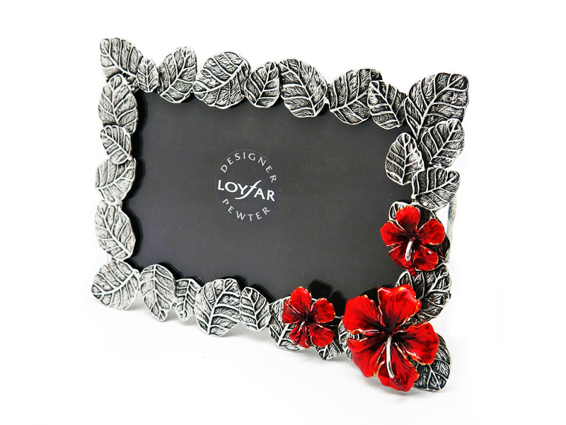 PHOTO FRAME HIBISCUS
