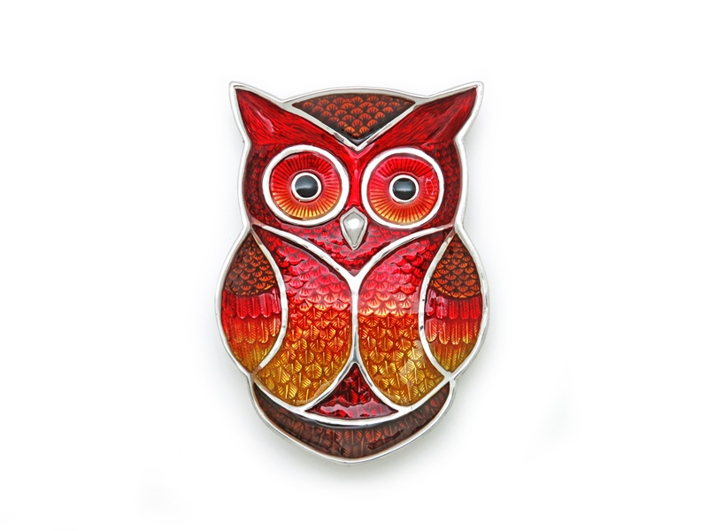 TRAY OWL WITH COLOUR